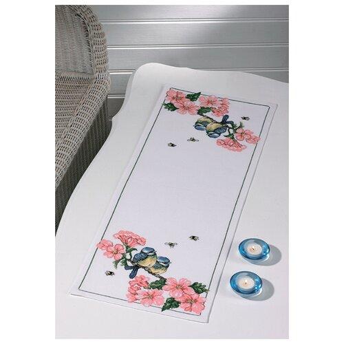 Купить Дорожка Синицы в цветах набор для вышивания, Permin, Наборы для вышивания