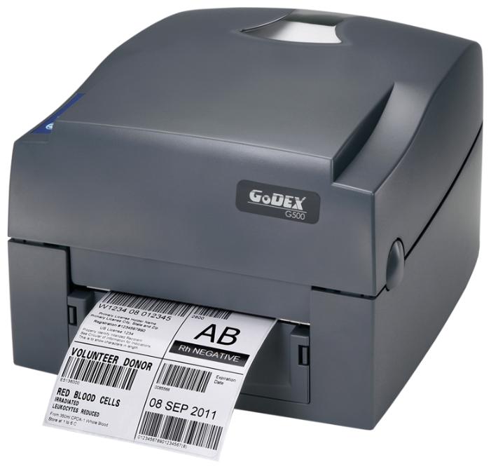 Купить GODEX G530U, термо-трансферный принтер этикеток, 300 dpi, и/ф USB (011-G53A02-000) по низкой цене с доставкой из Яндекс.Маркета
