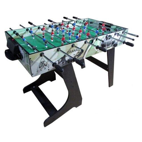 Игровой стол для футбола DFC Granada GS-ST-1470 зеленый/серебристый игровой стол для футбола dfc santos es st 3620 черный желтый