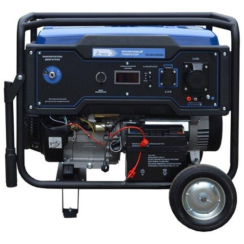 Фото - Бензиновый генератор ТСС SGG 6000EHNA (6000 Вт) бензиновый генератор тсс sgg 5000 eh 5000 вт