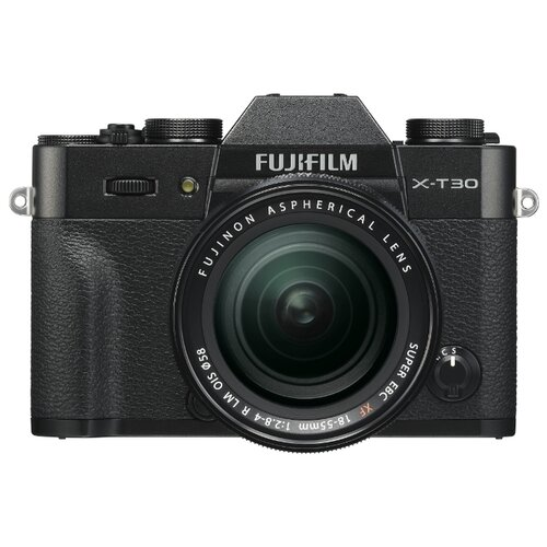 Фото - Фотоаппарат Fujifilm X-T30 Kit черный 18-55mm f/2.8-4 R LM OIS фотоаппарат fujifilm x t3 kit 18 55mm silver