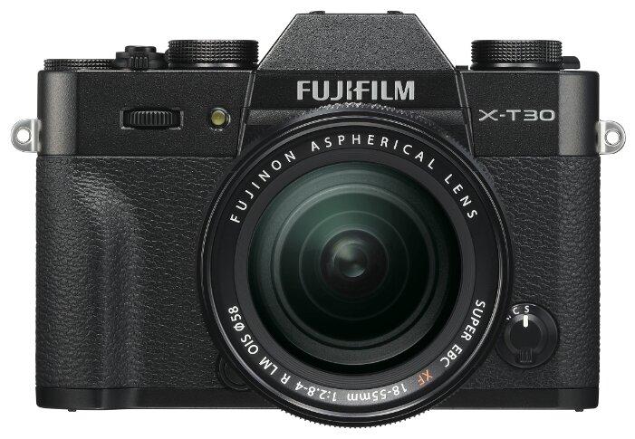 Фотоаппарат Fujifilm X-T30 Kit черный 18-55mm f/2.8-4 R LM OIS фото 1