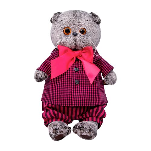 Мягкая игрушка Basik&Co Басик в рубашке и штанах 19 см