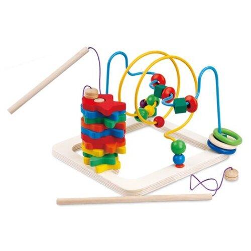 Купить Развивающая игрушка Mapacha 2 в 1 рыбалка и лабиринт разноцветный, Развитие мелкой моторики