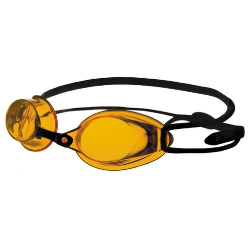 Очки для плавания ATEMI R102 чёрный/янтарь
