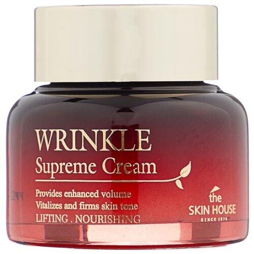 The Skin House Wrinkle Supreme Cream Питательный крем для лица, разглаживающий морщины с женьшенем, 50 мл недорого