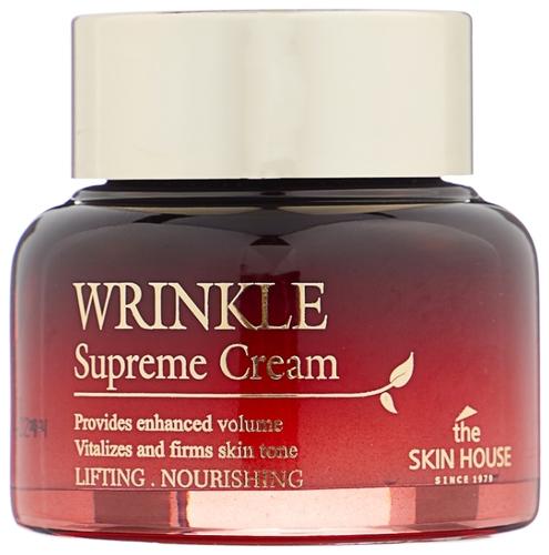 The Skin House Wrinkle Supreme Cream Питательный крем для лица, разглаживающий морщины с женьшенем