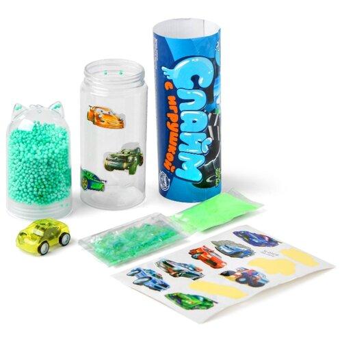 Купить ШКОЛА ТАЛАНТОВ Набор для творчества Слайм с игрушкой Машинки 4695643, Школа талантов, Изготовление свечей