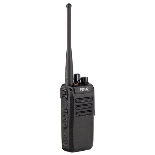 Рация ТЕРЕК РК-401 V черный мобильная рация терек рм 302 uhf