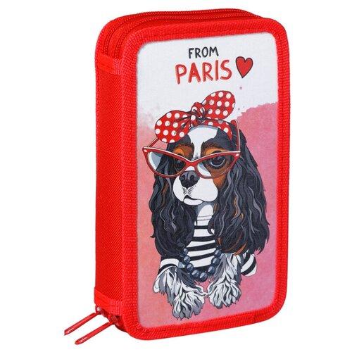 Купить ArtSpace Пенал From Paris (ПК2_29093) красный, Пеналы