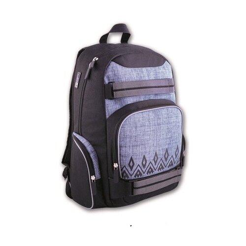 Купить Феникс+ Рюкзак (41017), черный/серый, Рюкзаки, ранцы