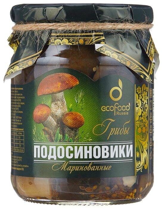 Подосиновики Ecofood маринованные
