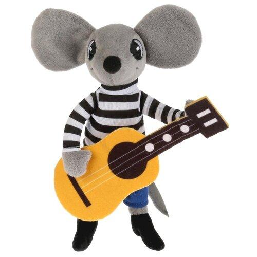 Мягкая игрушка Мульти-Пульти Мышонок с гитарой 26 см, муз. чип