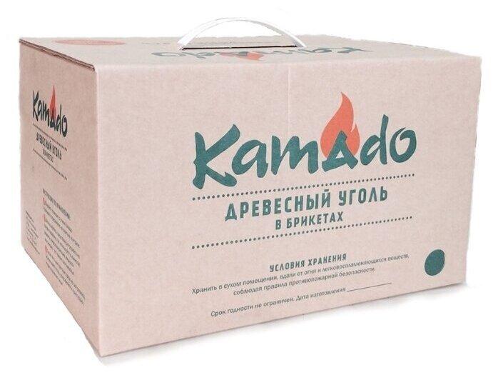 Kamado joe древесно-угольные брикеты 10 кг