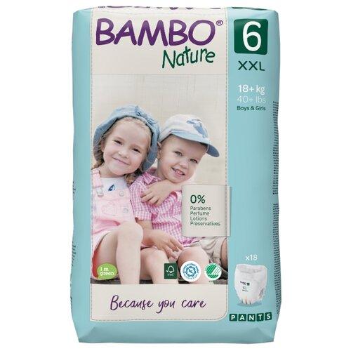 Купить BAMBO трусики Nature 6 (18+ кг) 18 шт., Подгузники