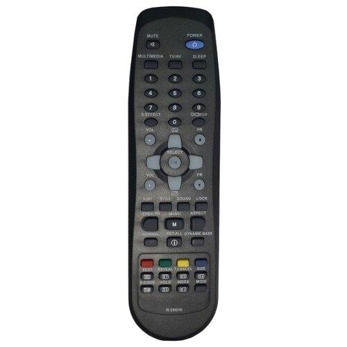 Пульт ДУ Huayu R-55G10 для телевизоров Daewoo DLP-37C7/DLP-37С7F/DLP-26C2/DLP-32C1/DLP-32C3/DLP-37C3 черный