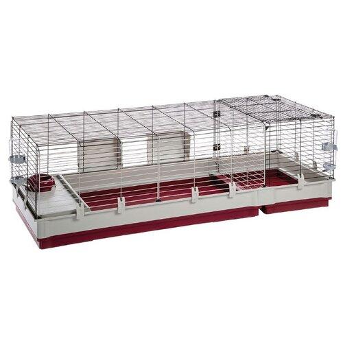 Клетка для кроликов Ferplast Krolik 160 162х60х50 см бордовый