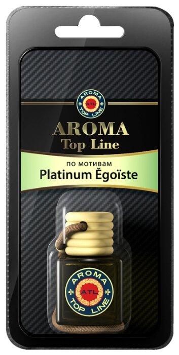 Ароматизатор подвесной флакон Top Line 6ml по мотивам Platinum Egoiste