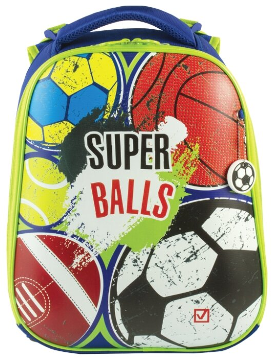 BRAUBERG Ранец Premium Супер-мячи