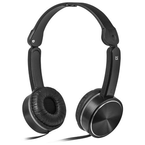 Наушники Defender Accord-145 w/mic черный наушники inkd 2 0 in ear w mic street gray chrome
