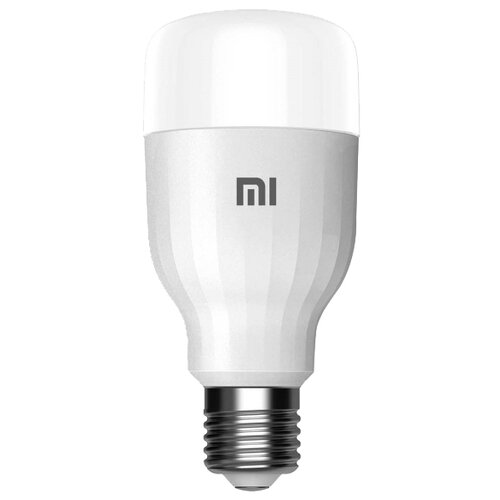 Фото - Лампа светодиодная Xiaomi Mi Smart LED Bulb Essential (MJDPL01YL), E27, 9Вт лампочка xiaomi mi led smart bulb 2 pack mjdp02yl e27 10вт