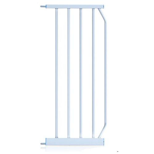 Купить Дополнительная металлическая секция для барьера-калитки, 30 см, цвет: белый, Baby Safe, Аксессуары для безопасности
