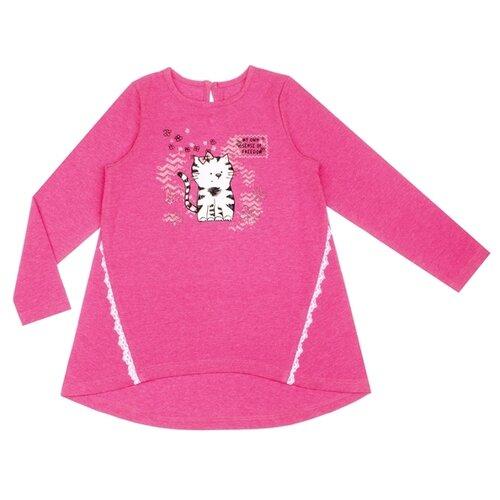 Купить Туника Апрель, размер 92-50, ярко-розовый217, Футболки и рубашки