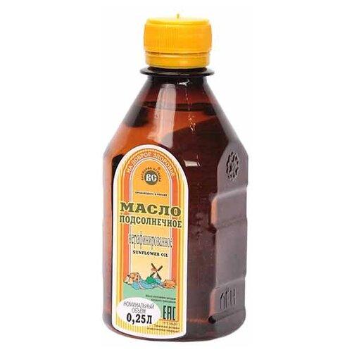 Василева Слобода Масло подсолнечное нерафинированное, пластиковая бутылка 0.25 л