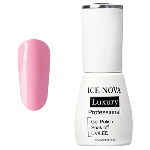 Купить Гель-лак для ногтей ICE NOVA Luxury Professional, 10 мл, 006 pink