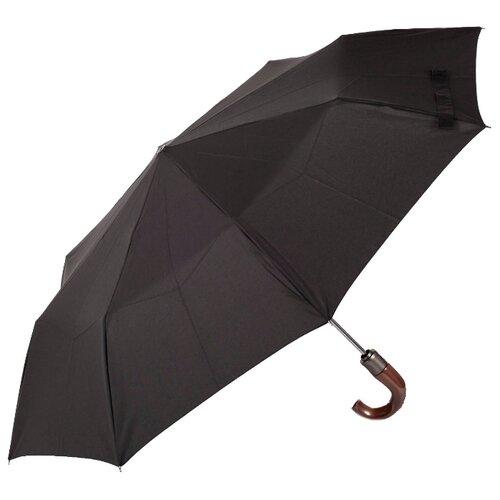 Зонт полуавтомат ZEST 43640 черный