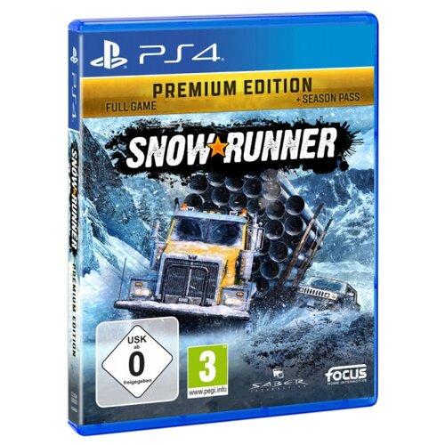 Купить Игра для PlayStation 4 Snowrunner. Premium Edition, Focus Home Interactive