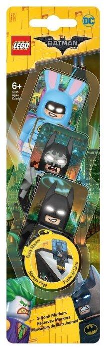 Набор закладок LEGO Batman/Glam Rocker Batman/Easter Bunny Batman 3 шт.