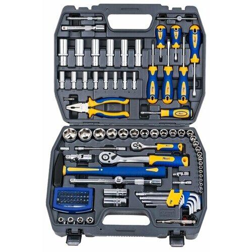 Набор инструментов KRAFT (109 предм.) KT 700678 набор инструментов kraft professional с сумкой 23 предметов