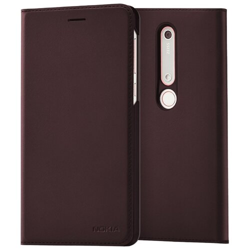 Чехол-книжка Nokia CP-308 для Nokia 6.1 iron red чехол nokia cc 505 для nokia 6 1 iron red