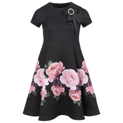 Платье Stefania Pinyagina размер 104, черный