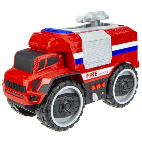 Купить Пожарный автомобиль 1 TOY Экстренные службы (Т16949) 20 см красный, Машинки и техника