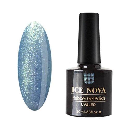 Купить Гель-лак для ногтей ICE NOVA Rubber Gel Polish, 10 мл, 074