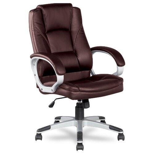 Компьютерное кресло College BX-3177 для руководителя, обивка: искусственная кожа, цвет: коричневый
