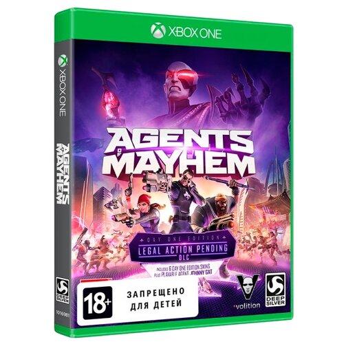 Игра для Xbox ONE Agents of Mayhem. Издание первого дня, русские субтитры