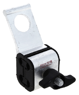 Крепежный зажим для кабеля/трубы EKF SO-239