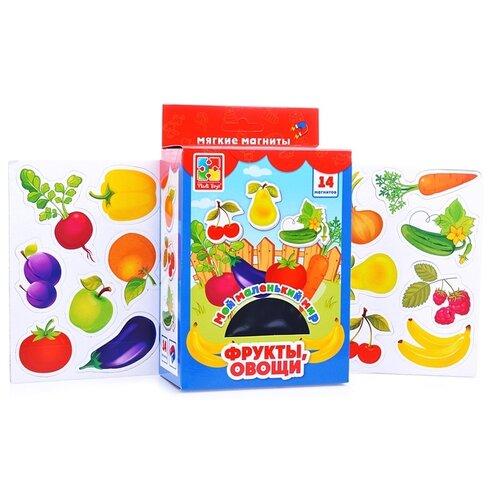 Фигурки Vladi Toys Мой маленький мир Овощи, фрукты VT310603 обучающая игра vladi toys мой маленький мир зоопарк