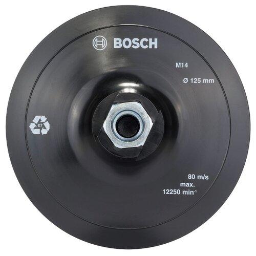 Тарелка для УШМ на липучке BOSCH 2608601077 125 мм 1 шт тарелка для ушм практика 038 524 125 мм 1 шт