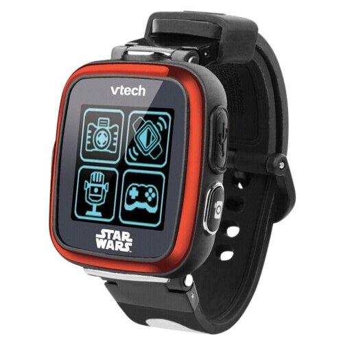 Детские умные часы VTech Kidizoom Star Wars Stormtrooper, черный/красный