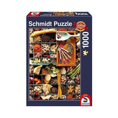 Пазл Schmidt Все для кухни (58141), 1000 дет. пазл schmidt все для кухни 58141 1000 дет