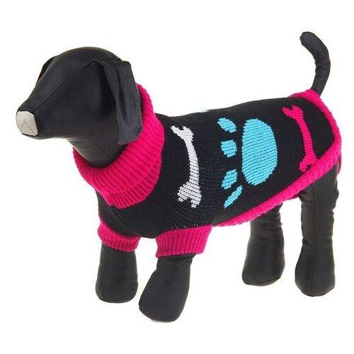 Свитер для собак Пижон размер 12 черный