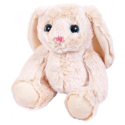 Мягкая игрушка ABtoys Кролик бежевый 18 см