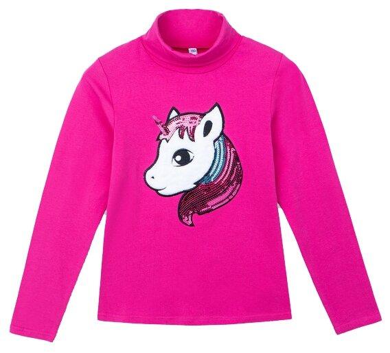 Купить Водолазка playToday размер 140, розовый/белый/голубой по низкой цене с доставкой из Яндекс.Маркета