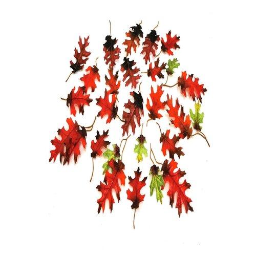 Искусственные листья дуба
