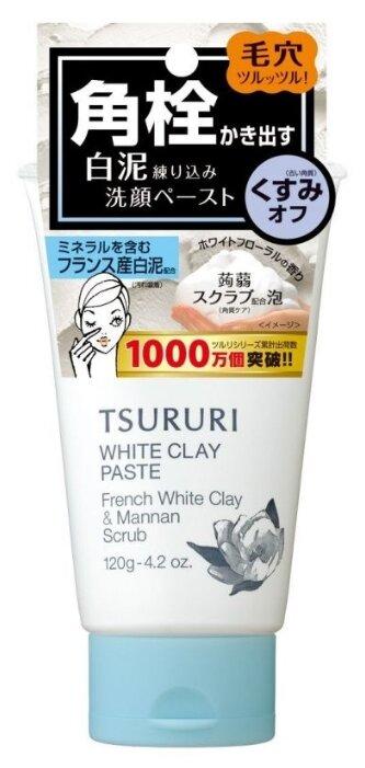 BCL пена скраб для лица Tsururi white