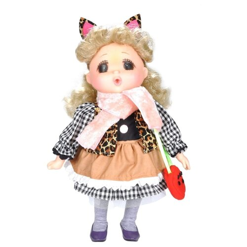 Фото - Кукла Lotus Onda Мадемуазель Gege в коричневом платье, 38 см, 14038 кукла lotus onda кристина 40 см